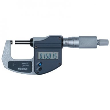 Mitutoyo 293-831-30 Series 293 IP65 Digimatic Lite Ratchet-Stop Micrometers