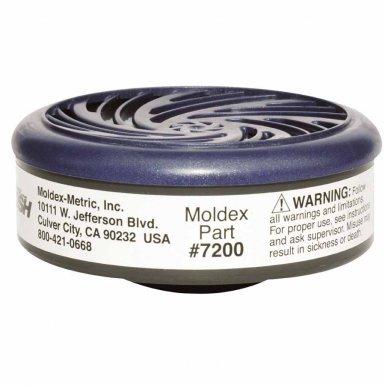 Moldex 7200 7000 & 9000 Series Gas/Vapor Cartridges