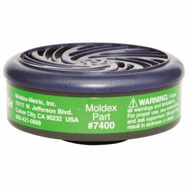 Moldex 7400 7000 & 9000 Series Gas/Vapor Cartridges