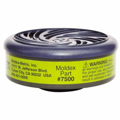 Moldex 7500 7000 & 9000 Series Gas/Vapor Cartridges