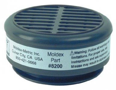 Moldex 8200 8000 Series Gas/Vapor Cartridges
