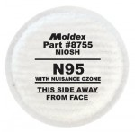 Moldex 8755 8000 Series N95 Particulate Filters Plus Nuisance Ozone/OV