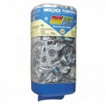 Moldex 6881 Plugstation Dispenser with SparkPlugs Corded Metal Detectable Earplugs