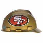 MSA 818409 Officially-Licensed NFL V-Gard Helmets