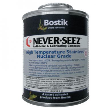 Never-Seez 30801137 Never Seez High Temperature Stainless Nuclear Grade Anti-Seize and Lubricating Compound