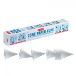 Newell Brands FG2B4112WHT Rubbermaid Home Products Disposable Paper Cone Cups