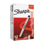 Newell Brands 37161PP Sharpie Ultra Fine Tip Permanent Markers