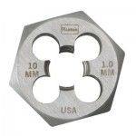 Newell Rubbermaid 6642ZR Irwin Hanson Hexagon Metric Dies (HCS)