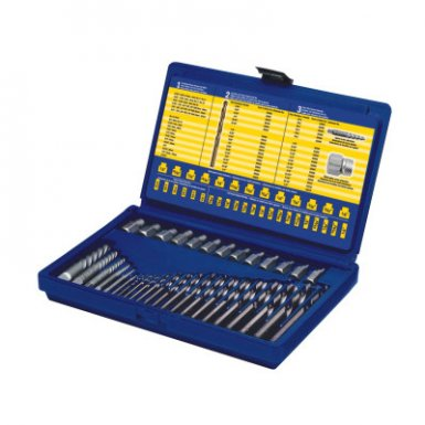 Newell Rubbermaid 11135ZR Irwin Screw Extractor and Drill Bit Sets
