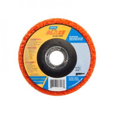 Norton 666233037830 Bear-Tex Blaze Rapid Non-Woven Depressed Center Discs