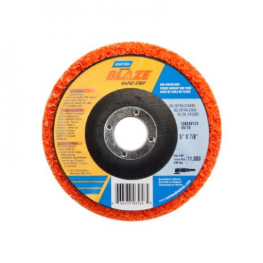 Norton 666233039160 Bear-Tex Blaze Rapid Non-Woven Depressed Center Discs