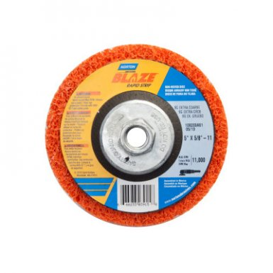 Norton 666233039150 Bear-Tex Blaze Rapid Non-Woven Depressed Center Discs