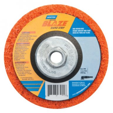 Norton 66254498101 Blaze Rapid Strip Depressed Center Discs