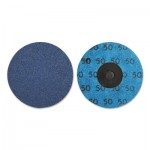 Norton 66261138673 Blue Fire Quick-Change Cloth Disc
