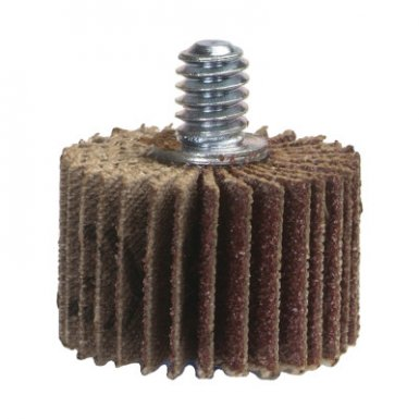 Norton 10636425026645 Coarse Grit Threaded Shank Mini Flap Wheels