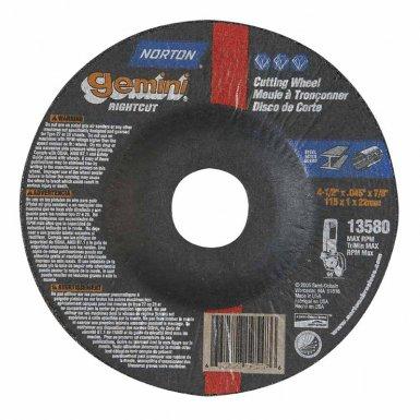 Norton 66252841909 Gemini Depressed Center Wheels