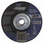 Norton 66252841939 Gemini RightCut Depressed Center Wheel