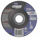 Norton 66252842026 Gemini RightCut Depressed Center Wheel