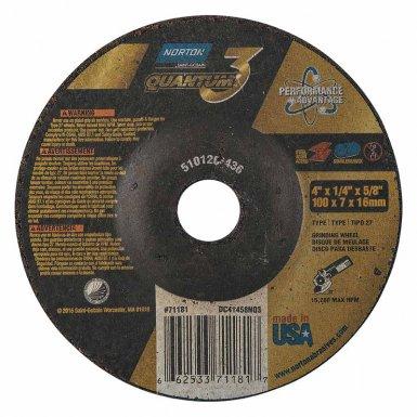 Norton 66253371181 Quantum3 Cut-off Wheels