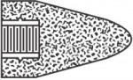 Norton 61463622190 Type 16 Gemini Cones