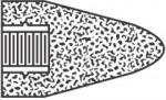 Norton 61463622218 Type 16 Gemini Cones