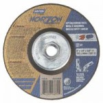 Norton 66252843330 Type 27 NorZon Plus Depressed Center Grinding Wheels