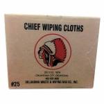 Oklahoma Waste & Wiping Rag 101-25 Balbriggan Lightweight Knit Towels