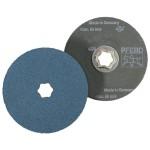 Pferd 40131 COMBICLICK Zirconia Alumina Fiber Discs
