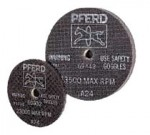 Pferd 69442 Type 1 A-SG Small Diameter Grinding Wheels