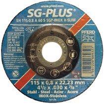 Pferd 69845 Type 1 SGP-INOX Flat Cut-Off Wheels