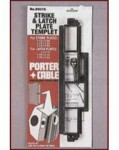 Porter Cable 59375 Strike and Latch Templates