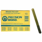 Precision Brand 76740 Brass Poc-Kit Thickness Gage Assortments