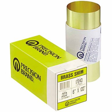 Precision Brand 17390 Brass Shim Stock Rolls