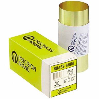 Precision Brand 17665 Brass Shim Stock Rolls