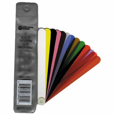 Precision Brand 78900 Fan Blade Plastic Thickness Gage Assortments