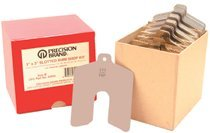 Precision Brand 42955 Slotted Shim Assortment Kits