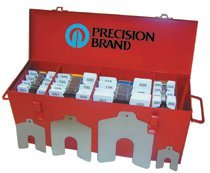Precision Brand 42996 Slotted Shim Assortment Kits