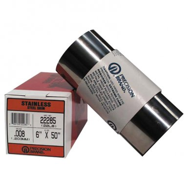 Precision Brand 22320 Stainless Steel Shim Stock Rolls