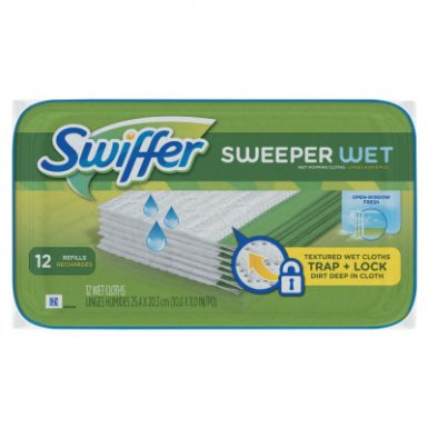 Procter & Gamble PGC95531PK Swiffer Wet Refill Cloths