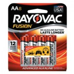 Rayovac 815-8TFUSK FUSION Advanced Alkaline Batteries