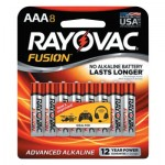Rayovac 824-8TFUSK FUSION Advanced Alkaline Batteries