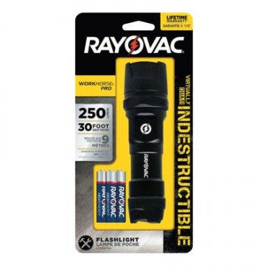 Rayovac DIY3AAABXTB Indestructible Series Flashlights