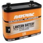 Rayovac 926C Lantern Batteries