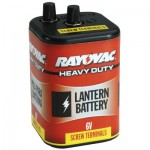 Rayovac 945R4C Lantern Batteries