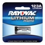 Rayovac RL123A2G Lithium Photo Batteries