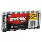 Rayovac ALAA-8J Maximum Alkaline Shrink Pack Batteries