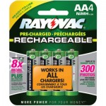 Rayovac LD715-4OP-GEND NiMH Pre-Charged Rechargeable Batteries