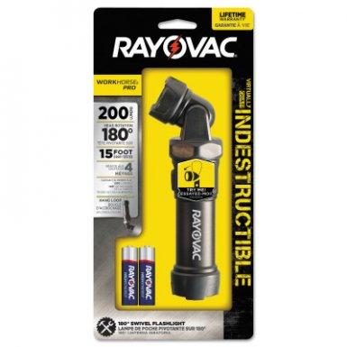 Rayovac DIYSL4AA-B Rayovac Workhorse Pro 4AA LED Virtually Indestructible Swivel Flashlights