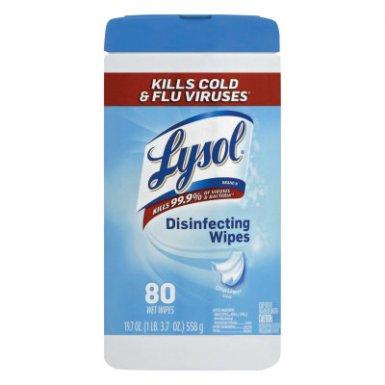 Reckitt Benckiser RAC89346CT LYSOL Brand Disinfecting Wipes