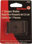 Red Devil 3061 Single Edge Scraper Blades